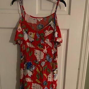 Candie's red luau dress